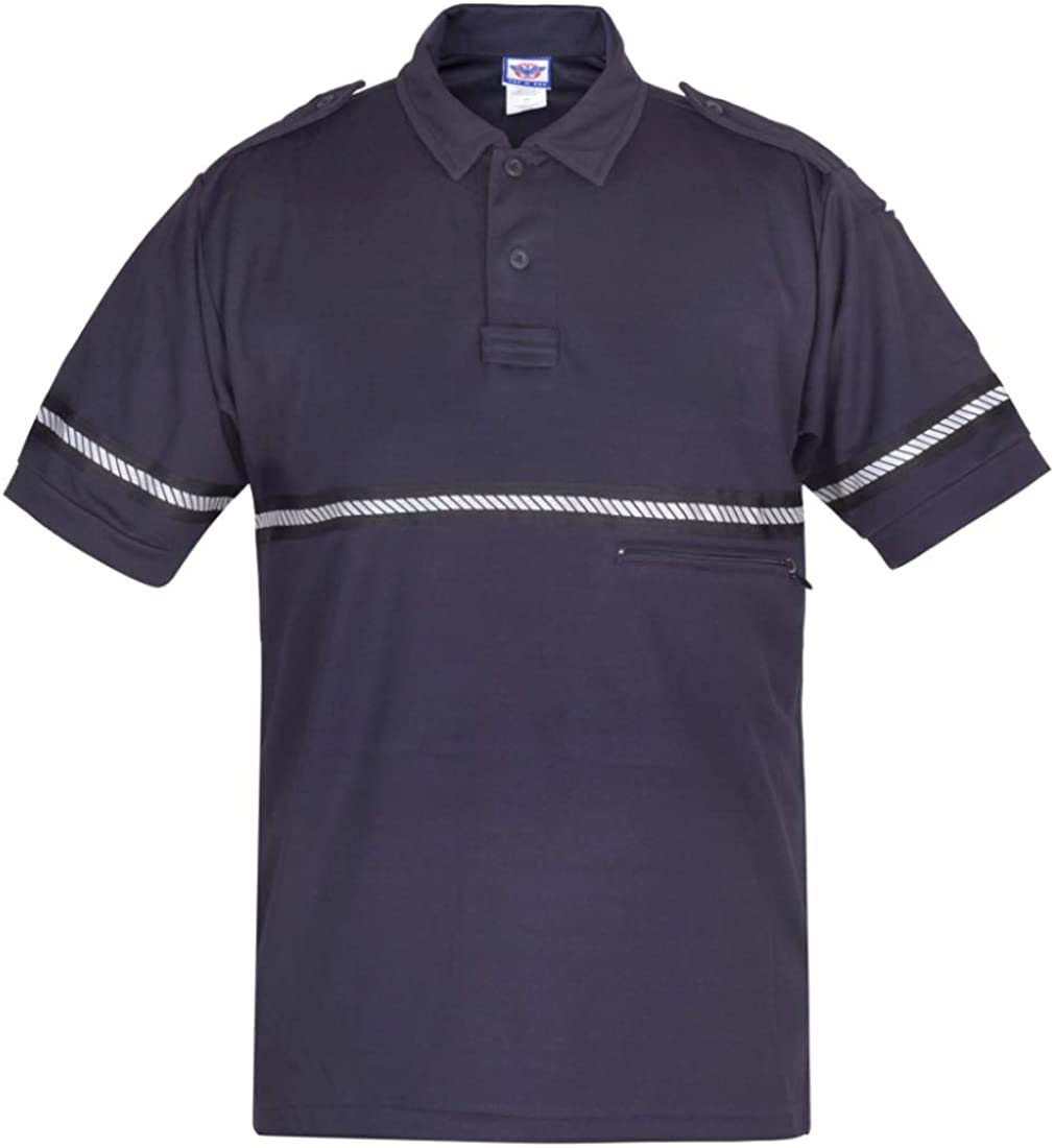 First Class Patrol Shirt with Limited Special Price - Visibil Reflective Branded goods High Striping