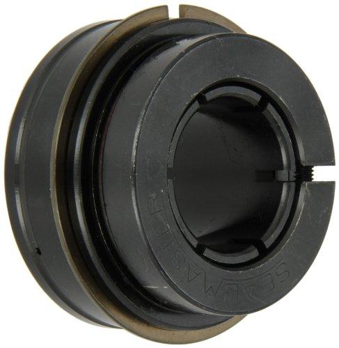 "Sealmaster ERX-16T XLO Wide Inner Ring Ball Bearing, Low Drag, Skwezloc Collar, X-Tra Lo Drag Felt Seals, Oil Lubrication, 1"" Bore, 52mm OD, 1-7/16"" Width"