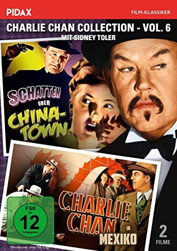 Charlie Chan Collection, Vol. 6 (Charlie Chan in Mexico + Schatten über Chinatown) (Pidax-Film-Klassiker)