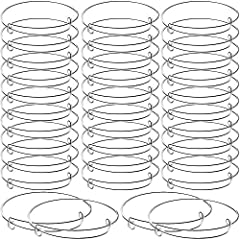 Large quantity: the package comes with 30 pieces expandable bangle bracelets in silver color, definitely adequate quantity to meet your wearing and replacing needs, also nice to share with family or friends Reliable material: these bangle bracelets a...