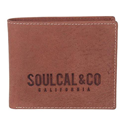 SoulCal Signature Geldbörse Braun Einheitsgröße