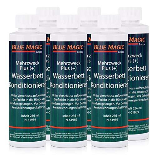 Blue Magic Wasserbett Conditioner 236 ml, für Wasserbetten - Konditionierer (6er Pack)