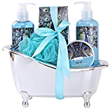 """Spa Gift Basket for Women with Refreshing """"Ocean Mint"""" Fragrance by Draizee-#1 Best Christmas..."""