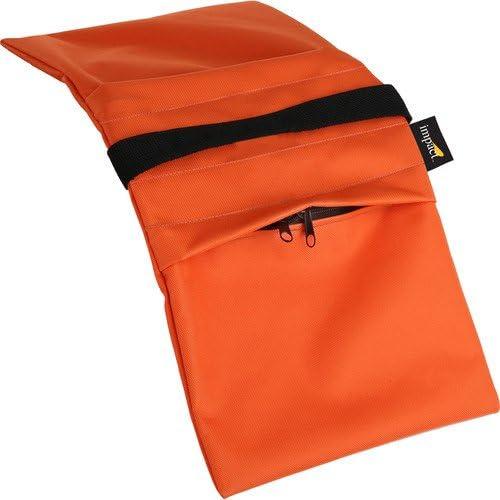 Impact Empty Saddle Sandbag Max 53% Charlotte Mall OFF - 15 Pack Orange lb 2 Cordura