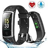 YONMIG Montre Connectée, Smartwatch Tension Artérielle Cardiofréquencemètre...