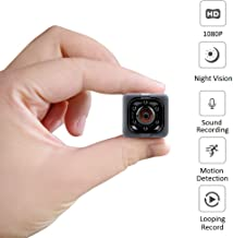 Spy Hidden Camera (No WiFi), 1080P HD Spy Camera with Audio & Video Recording, Night Vision and Motion Detective for Home, Office and Outdoor