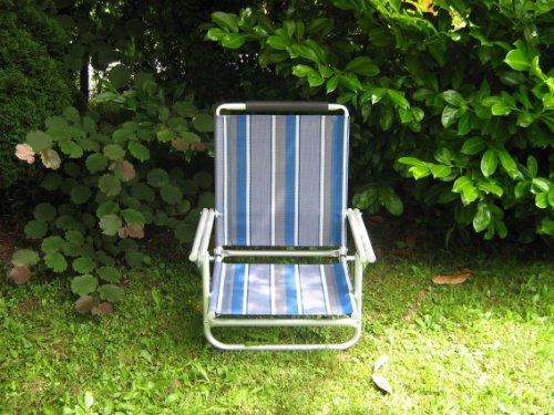 Avec sangle bandoulière-bEACH-plage-lot de 4 chaises en aluminium-sTABIELO aZURO-- dimensions : env. 120 kg, capacité de charge : env. 2,8 kg - 4 voies dossier réglable de 62 cm de haut également disponibles moyennant supplément est holly-sUN-sET fächerschirm-bleu-jaune-rouge/beige et holly 360°-universalgelenkhalterung ® holly sTABIELO ® produits-fabriqué en allemagne-innovation prix la durée des stocks contre supplément avec appuie-tête rembourré-sangle-holly sunshade ®