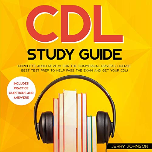 CDL Study Guide Audiobook By Jerry Johnson cover art