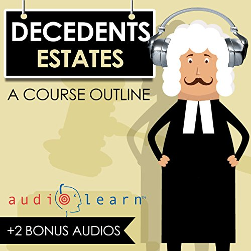 Decedents Estates audiobook cover art