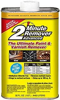 Sunnyside 63432 2-Minute Remover Advanced Paint & Varnish Remover Gel, Quart
