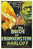OF THE BRIDE FRANKENSTEIN-FILM POSTER PLAKAT DRUCK-GRÖSSE: