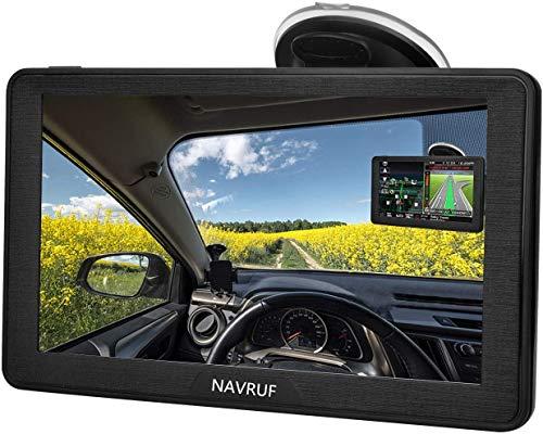 GPS Navigatore Satellitare Auto 7 Pollici Touch Screen, Avviso Traffico Vocale, Limite...