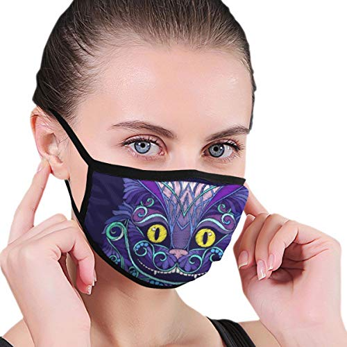 10. Cheshire Cat Face Mask