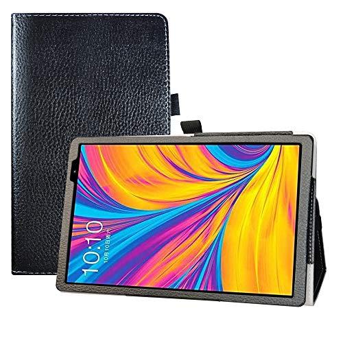 LFDZ Cover TECLAST P10HD,Slim Ultra Pelle Sottile e Leggera Cover Case Custodia per TECLAST P10HD 10.1 inch Tablet,Nero