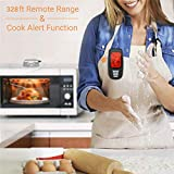 nobran Wireless BBQ Thermometer Kitchen Food Monitoring Thermometer Meat Thermometer