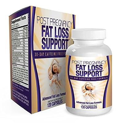 All-in-1 Postnatal Fat Burner Support Vitamins - Supplements - Pills - Post Pregnancy Fat Burning Weight Loss Supplement - Postpartum - 120 Capsules