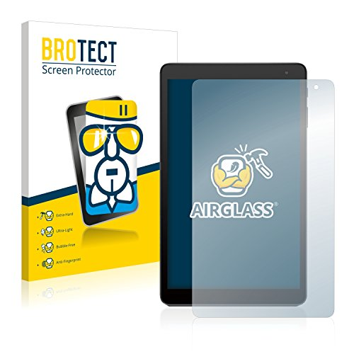 BROTECT Panzerglas Schutzfolie kompatibel mit Alcatel 1T 10 - AirGlass, extrem Kratzfest, Anti-Fingerprint, Ultra-transparent