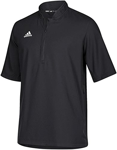 Adidas Team Iconic Short Sleeve QuarterZip Polo Men's Multisport XXL noir-blanc