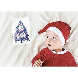 50 Cartes Étapes Mixtes Souvenirs de la 1ère année de Bébé – Création Familiale Française – Cadeau de Naissance pour faire de jolies Photos et écrire les Premières Fois de Bébé – Grand Format 16x11cm