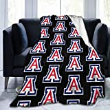 Arizona Wildcats University Throw Blanket Kids Adults Ultra Soft Plush Blanket Bed Couch Chair Living Room All Season 60'X50'