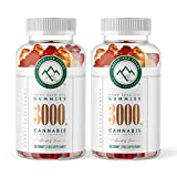 (2-Pack) Hemp Chewy Bears - 3000MG - Active Joint & Muscle Relief, Better Sleep.