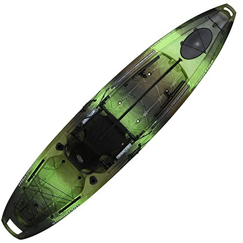 Lifetime Pro Angler 118 Fishing Kayak, Gator Camo