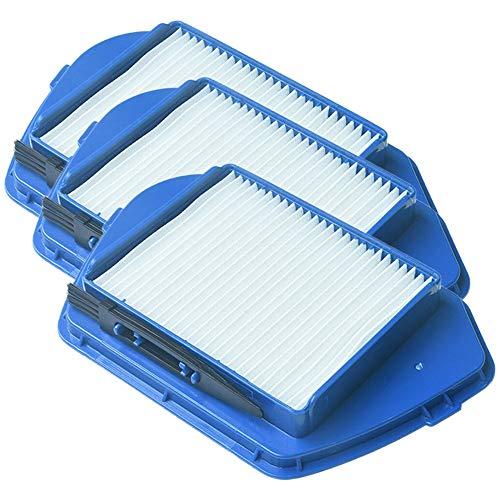 Senmubery Kit de Accesorios de Aspiradora de 3 Piezas Kit de Filtros de Polvo Hepa para Rowenta Staubsauger RO5353