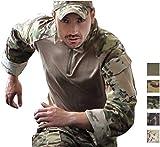 Paintball Equipment Emerson G3 Combat Shirt Camo Mens Tactical Tops Hunting BDU Shirt (Multicam Arid, Medium)