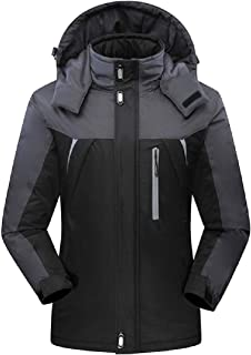 RkBaoye Men's Breathable Plus Size Security Pockets Quilted Jacket
