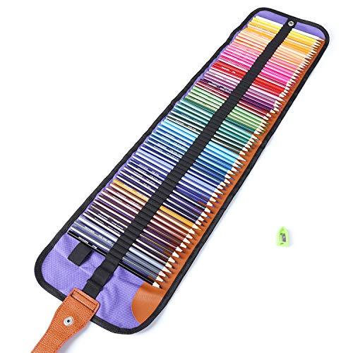 色鉛筆 72色 油性色鉛筆 塗り絵 描き用 絵の具 ...