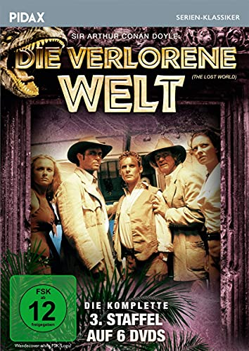 Die verlorene Welt, Staffel 3 / Die letzten 22 Folgen der Abenteuerserie basierend auf dem Roman von Sir Arthur Conan Doyle (Pidax Serien-Klassiker) [6 DVDs]