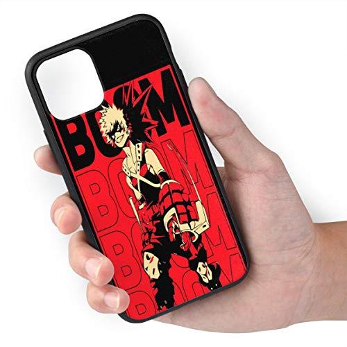 Anime Manga Boom Kacchan Katsuki Bakugo Comic Theme Case for iPhone 11, iPhone 11 Pro iPhone 11 Pro Max TPU Silicone Gel Edge Mobie Phone Skin Protective Printed Phone Full Protection Cover