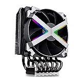 DeepCool fryzen RGB Disipador de CPU AMD 6heatpipes Ventilador PWM RGB de 120mm Compatible Marca gitup/TR4