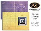 "Martelli 26"" x 38"" Large Self Healing Contrasting Cutting Sewing Mat"