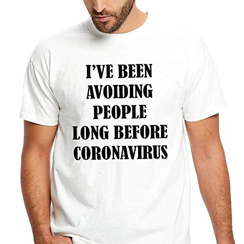 Been Avoiding People Before Coronavirus Funny Social Distancing T-Shirt For Men Women