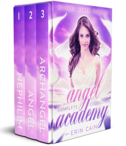 Angel Academy: Reverse Harem Romance Complete Series Collection Box Set (English Edition)