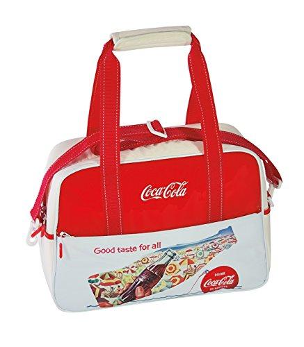 CocaCola Kühltasche Vintage Good Taste, weiß/rot, 42 x 16 x 26 cm, 12.2 Liter, 522801