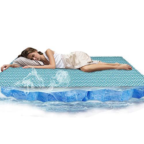 WISFORBEST Colchón de Enfriamiento para Dormir Almohadilla de Gel de Refrigeración para Verano Estera de Hielo Fresca 90 x 140CM