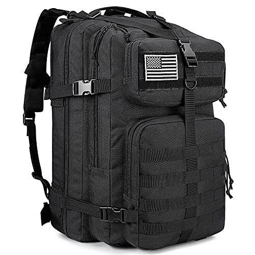 G4Free 50L Tactical Backpack Army Military Backpack Water Resistant Molle Rucksack for Outdoor...