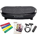 arteesol 3D Fitness Plataforma Vibratoria con Motor Dual, Vibrating Platform, aparatos para Hacer Ejercicio casa, 180 Niveles de Velocidad con Altavoz Bluetooth5.1, Utiliza para Deportes en Casa