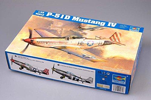 Trumpeter 1/32 P51D Mustang IV Fighter Model Kit