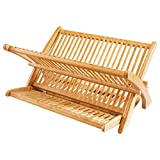 Totally Bamboo 'Eco Collapsible Bamboo Dish Drying Rack