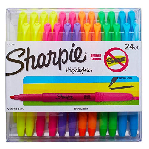 Sharpie Highlighters Assorted Colored 24-Count Now $7.48 (Was $28.38)