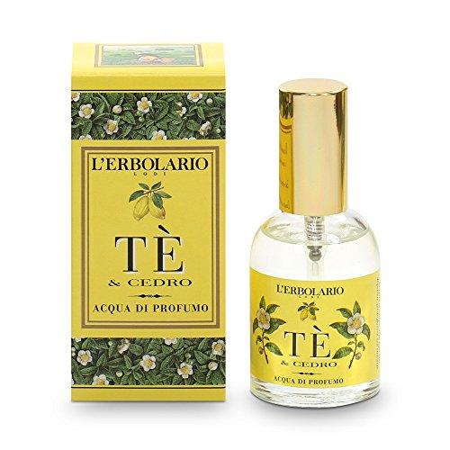 Té & Cedro (Tea & Cedar) Aqua di Profumo (Eau de Parfum) by L'Erbolario Lodi