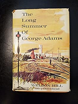 Hardcover The long summer of George Adams Book