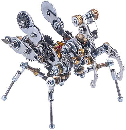 YUKM Mantis Mantis Mantis Puzzle Model Kit De Construcción, Kit De Modelo De Insecto De Rompecabezas De Metal 3D, Modelo Mecánico para Niños, Juguetes Educativos, Decoración De Escritorio
