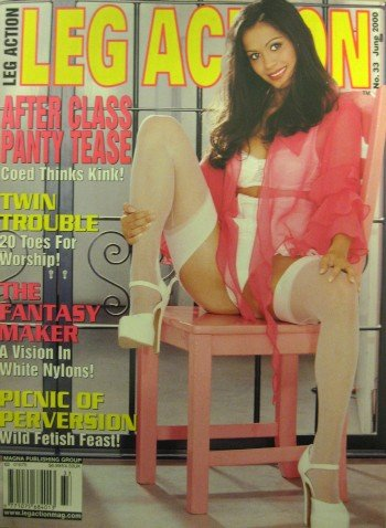 Leg Action Magazine - June 2000: Foot Fetish Magazine with Sid Deuce and More!