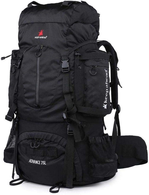 ExtraLarge Capacity Hiking Bag Outdoor Travel Backpack wuJIAN (color   B)