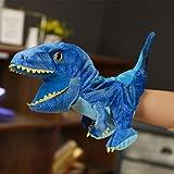 FFXZL Guantes de Cabeza de Dinosaurio Boca móvil Ventrílocuo para niños Muñeca de Dedo Dinosaurio Ma...