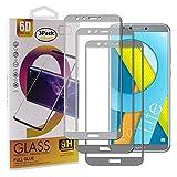 Guran [3 Paquete Protector de Pantalla para Honor 9 Lite Smartphone Cobertura Completa Protección 9H Dureza Alta Definicion Vidrio Templado Película - Gris